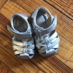 See Kai Run Camila Silver Sandals